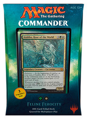 Commander 2017: Feline Ferocity / Cats Deck