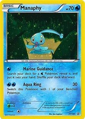 Manaphy - XY190 - Cosmos Holo Promo - Magearna Mythical Collection Exclusive