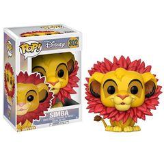 Pop!  Disney 302: The Lion King - Simba (With Leaf Mane)
