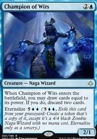 Champion of Wits - Foil