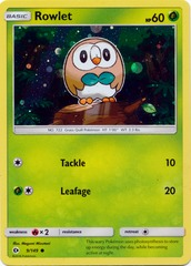 Rowlet - 9/149 - Cosmos Holo Promo - Decidueye GX Premium Collection Exclusive