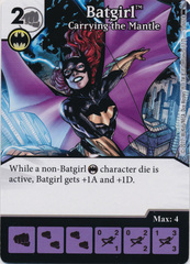 Batgirl -  Carrying the Mantle (Die and Card Combo)