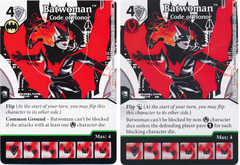 Batwoman - Code of Honor (Die and Card Combo)