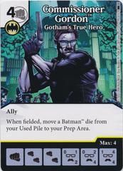 Commissioner Gordon - Gotham's True Hero (Die and Card Combo)