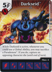 Darkseid - Omega (Die and Card Combo)