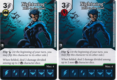 Nightwing - Heir to the Cowl (Die and Card Combo)