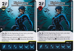 Nightwing - Protector of Bludhaven (Die and Card Combo)