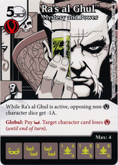 Ra's al Ghul - Mystery and Power (Die and Card Combo)
