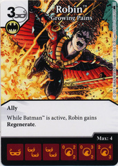 Robin - Growing Pains (Die and Card Combo)