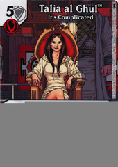 Talia al Ghul - It's Complicated (Die and Card Combo)