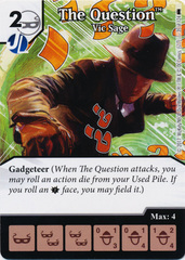 The Question - Vic Sage (Die and Card Combo)