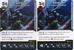 Batman - Always Prepared (Die and Card Combo) - Foil