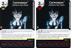 Catwoman - Kitten's Got Claws (Die and Card Combo) - Foil