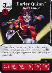 Harley Quinn - Tough Cookie (Die and Card Combo) - Foil