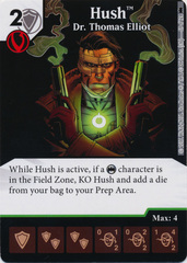 Hush - Dr. Thomas Elliot (Die and Card Combo) - Foil
