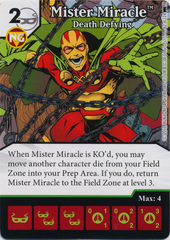 Mister Miracle - Death Defying (Die and Card Combo) - Foil