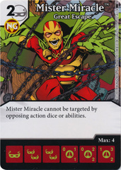 Mister Miracle - Great Escape (Die and Card Combo) - Foil
