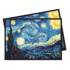 Ultra Pro - Fine Art: Standard Deck Protector - Starry Night 65 Count
