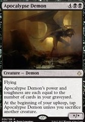 Apocalypse Demon - Foil on Channel Fireball