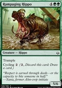 Rampaging Hippo - Foil