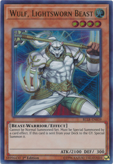 Wulf, Lightsworn Beast - BLLR-EN039 - Ultra Rare - 1st Edition on Channel Fireball