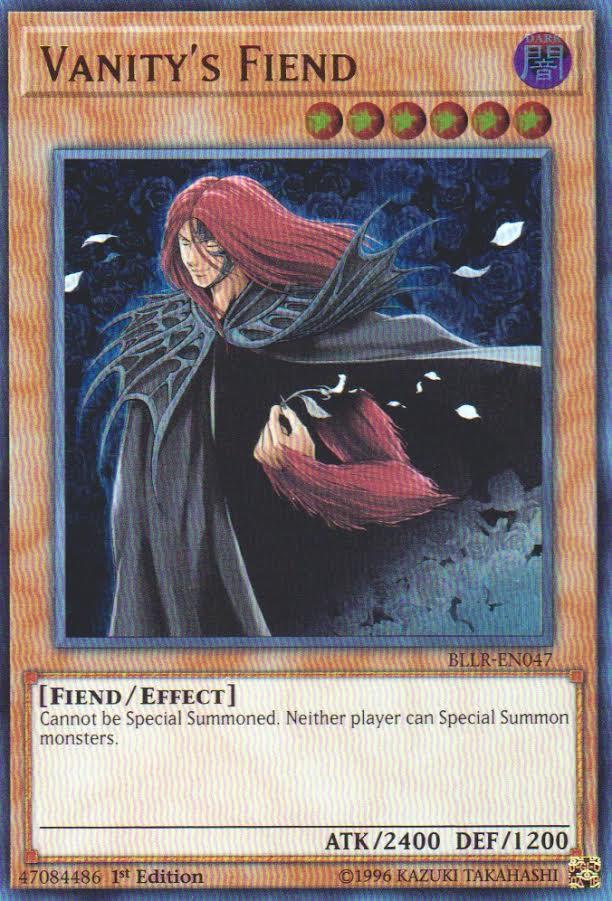 Vanitys Fiend - BLLR-EN047 - Ultra Rare - 1st Edition