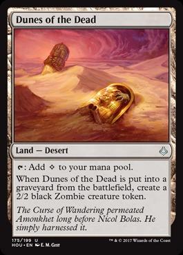 Dunes of the Dead - Foil