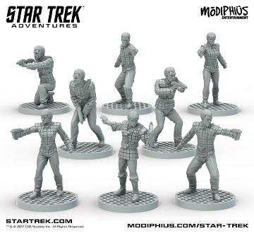 Star Trek Adventures: Romulan Strike Team Minis