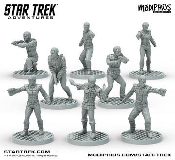Star Trek Adventures Romulan Strike Team Minis