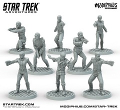 Star Trek Adventures: Romulan Strike Team Minis
