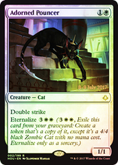 Adorned Pouncer - Foil - Prerelease Promo