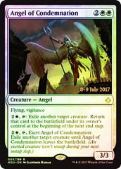 Angel of Condemnation - Foil - Prerelease Promo on Channel Fireball