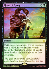 Hour of Glory - Foil - Prerelease Promo