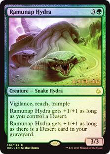 Ramunap Hydra - Foil - Prerelease Promo