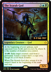 The Scarab God (HOU Prerelease Foil) on Channel Fireball