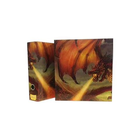 Dragon Shield Slipcase Binder - Red