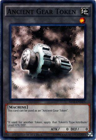 Ancient Gear Token - SR03-ENTKN - Common - Unlimited Edition