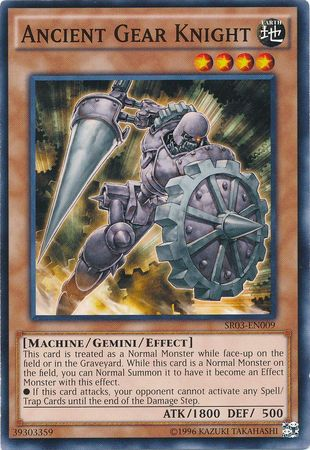 Ancient Gear Knight - SR03-EN009 - Common - Unlimited Edition