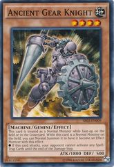 Ancient Gear Knight - SR03-EN009 - Common - Unlimited Edition on Channel Fireball
