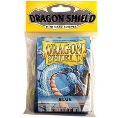 Dragon Shields - Mini 50Ct Pack: Blue