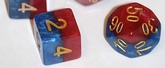 Gate Keeper Games - Halfsies Dice - Superdice 7-Dice Set