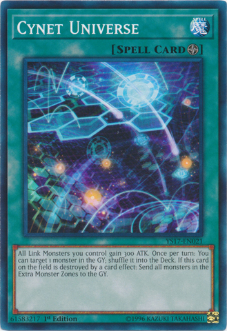 Cynet Universe - YS17-EN021 - Common - 1st Edition
