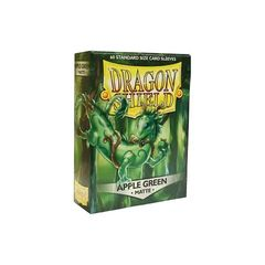 Dragon Shield Sleeves: Matte Apple Green (Box Of 60)