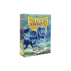Dragon Shield Sleeves: Matte Sky Blue (Box Of 60)