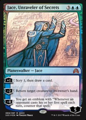 Jace, Unraveler of Secrets - Foil - SDCC 2017 Exclusive
