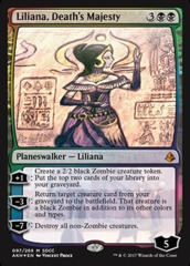 Liliana, Death's Majesty - Foil - SDCC 2017 Exclusive
