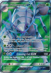 Golisopod GX - 129/147 - Full Art Ultra Rare