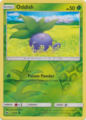 Oddish - 4/147 - Common - Reverse Holo