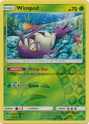 Wimpod - 16/147 - Common - Reverse Holo
