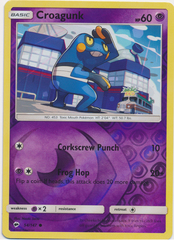 Croagunk - 54/147 - Common - Reverse Holo